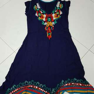 Embroidery Indian Top