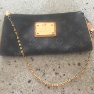 Louis Vuitton Inspired Clutch In Excellent Condition. Worn Few Times No Stains On The Inside.