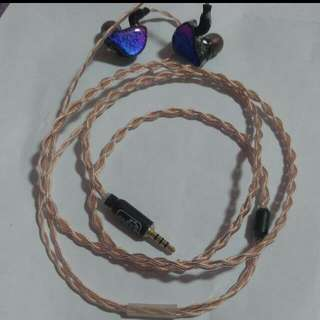 Forza AW 3.5mm TRRS Balanced IEM Cable (MMCX)