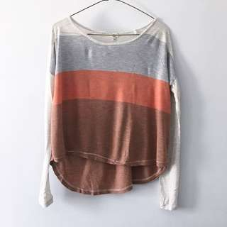 Wilfred / Aritzia Colourblock Crop Too
