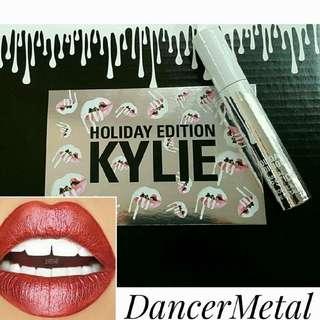 Kylie Dancer metal Lipstick HOLIDAY EDITION