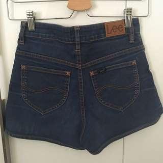 Lee Mini Shorts