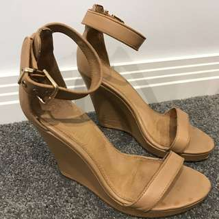 Witchery Tan Wedges