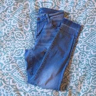 Midrise Rockstar Jeans
