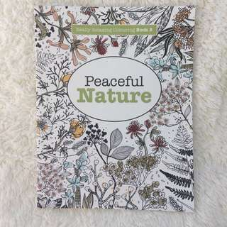 Peaceful Nature Colouring Book