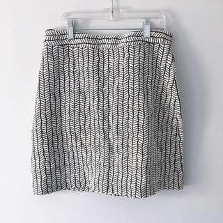 Zara Print Skirt