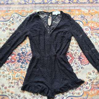 Lacy Playsuit