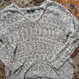 Grey Glassine Jumper