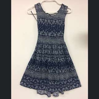 Patterned Rip Curl Dress