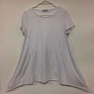 White Loose Tshirt