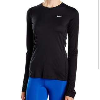 Nike Dri-Fit Black Long Sleeve