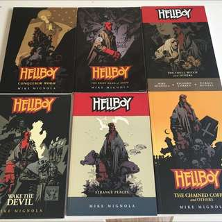 Hellboy Trade Paperback Collections