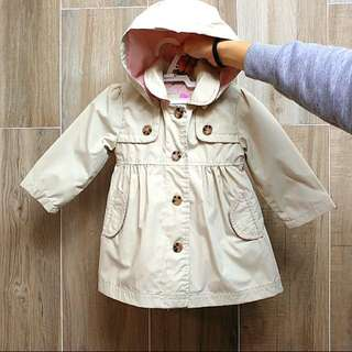 95% New, Good Quality Trench Coat For 9-12months