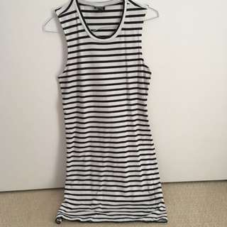 Bardot Stripe Dress