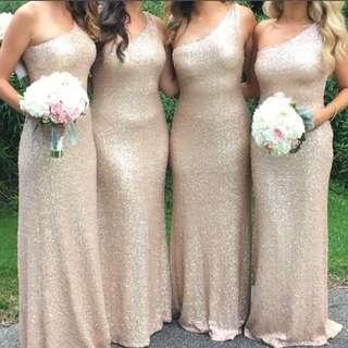 Evening Gown - Formal Dress - Sequin