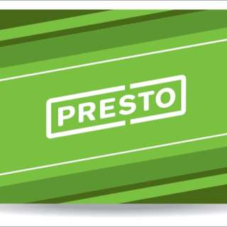 Looking For Unregistered Presto Cards