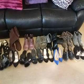 Shoes All Different Prices