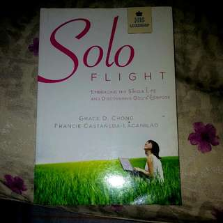 Solo Flight with Free Magnetic Page Marker