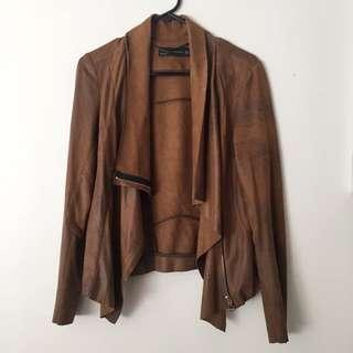 Zara Brown Jacket Size S