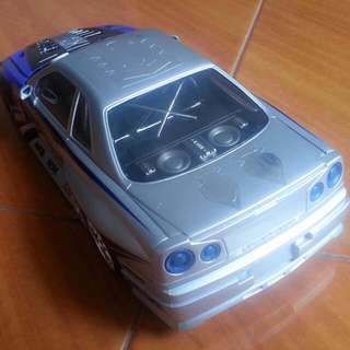 (Prt2) 1:18 2000 Mattel Hotwheels Tunerz Skyline R34 with parts for Wide skirts version and Vspecs 2 Nür version.