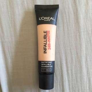 L'Oréal Infallible 24H Matte