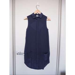 Nique Navy Shift Dress