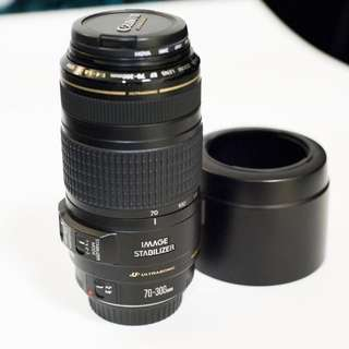 90%新 行貨 Canon EF 70-300mm f4.0-5.6 IS USM