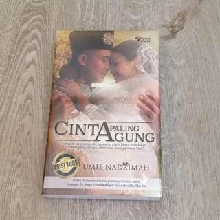 Novel Cinta Paling Agung