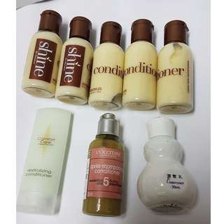 [全新]  L'occitane 歐舒丹草本修護潤髮乳35ml  Shine美國喜來登飯店潤髮乳 小容量攜帶瓶旅行組