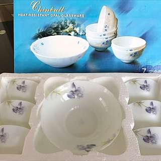 7 Pieces Bowl Set