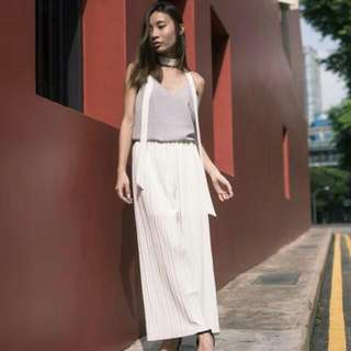 Pleated Pants/culottes