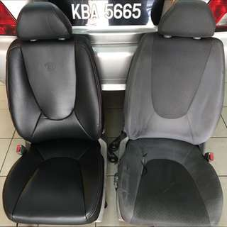 Proton Waja Semi Leather Seat Cover