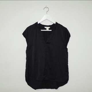 NEW! H&M Black Blouse