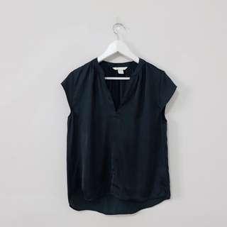 NEW! H&M Dark Green Blouse