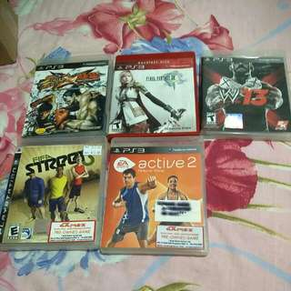 Used Playstation 3 PS3 Games.