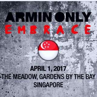 Armin Van Buuren ONLY EMBRACE World Tour