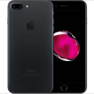 iPhone 7+ 128GB Matte Black