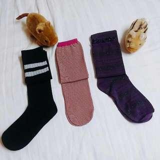 長襪三雙/100元