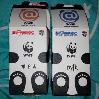 Milk Panda Bearbrick 100% Medicom Be@rbrick