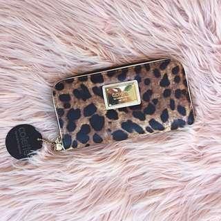 Collette leopard print purse