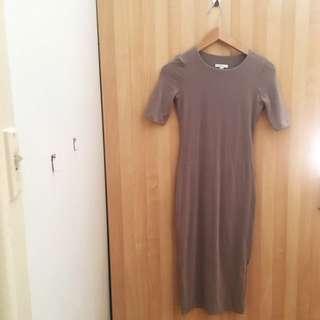"""Mauve """"Crew Half Sleeve"""" Kookai Dress"""