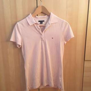 Baby Pink Tommy Hilfiger Top
