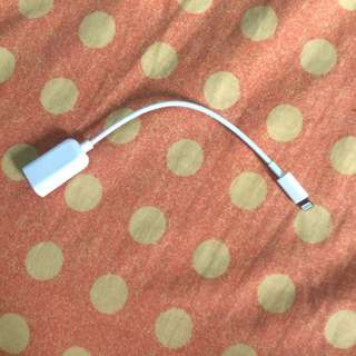 IOS Usb Port Otg
