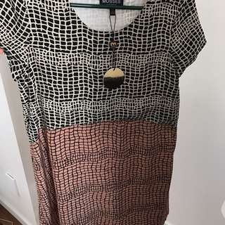 Mossee Spilt Dress, Size 10