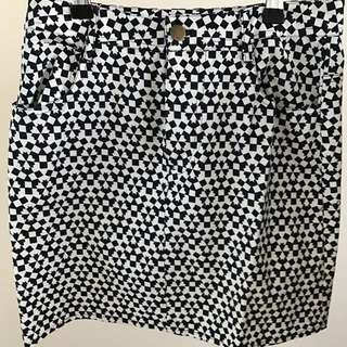 Gorman Mini Skirt, Size 8