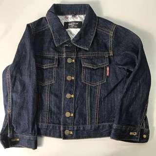 COMME CA ISM denim Jacket For Kids
