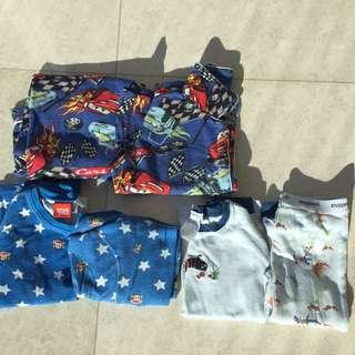 BULK PJ Pyjamas Size 4