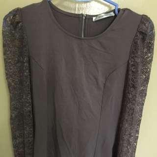 Osmose long sleeve dress