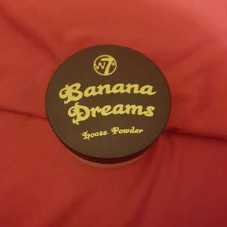 banana dreams setting powder