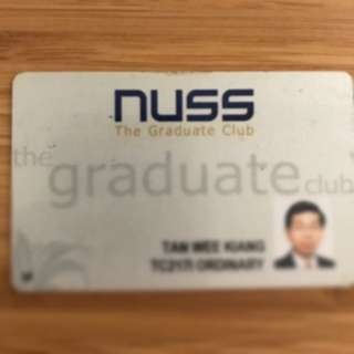 NUSS Club Membership
